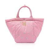 2-Way Tote Bag - French Pom Pom- Pink