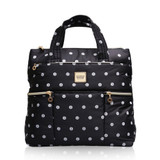 Convertible Satchel / Backpack - Stripy Dotty