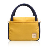 Cubic cute 2 way Bag - Color Block Yellow