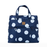 Convertible Satchel / Backpack - Bubble Deep Blue Sea