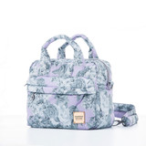 3-Way Cubic Backpack - Rose Garden Lilac