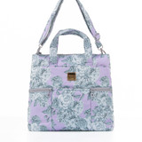 Convertible Satchel / Backpack - Rose Garden Lilac