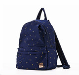City Backpack  - Starry Zodiac - Metallic Gold