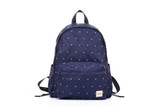 2-Zip Backpack - Gem of Heart - Navy