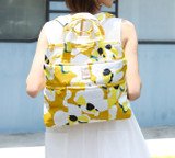 Convertible Satchel / Backpack - Kokio Yellow