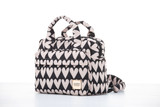 3-Way Cubic Backpack - Love Charm Beige