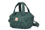 2-way Balloon Shoulder Bag - Gem of Heart - Gree