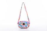 2-zip Puff Sling Bag - Je Suis a la Mode (White)