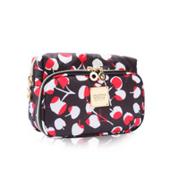 All-in-one makeup pouch - Cherrypicks- Red