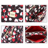 Cubic cute 2 way Bag - Cherrypicks - Red