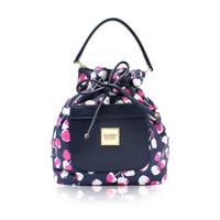 Mini Drawstring Bag - Cherrypicks - Pink