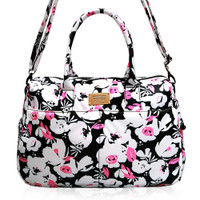 Boston Bag - Pinky Bloom