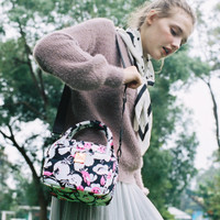 Cubic cute 2 way Bag - Pinky Bloom
