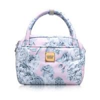 Cubic cute 2 way Bag -  Rose Garden - Pink