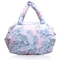 3-way Shoulder Tote - Rose Garden - Pink