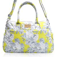 Boston Bag - Rose Garden - Yellow