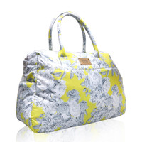 Boston Bag - Rose Garden - Yellow