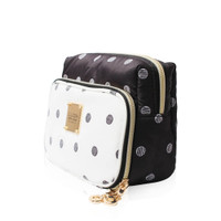 All-in-one Makeup Pouch - Stripy Dotty