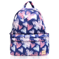 City Backpack - Dancing Heart - Blue