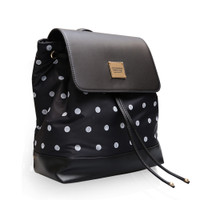Flipped Backpack - Stripy Dotty