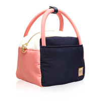 Cubic cute 2 way Bag - Color Block Navy