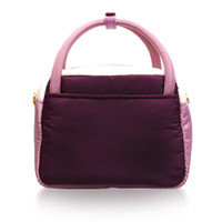 Cubic cute 2 way Bag - Color Block Purple