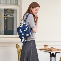 2-Way Cubic Backpack - Bubble Deep Blue Sea