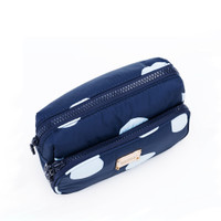 All-in-one Makeup Pouch - Bubble Deep Blue Sea