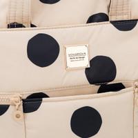 Convertible Satchel / Backpack - Bubble Milk Tea