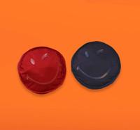 Vovarova x Smiley Foldable Backpack-Red