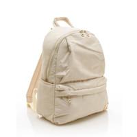 City Backpack - Shiny Dotty (Beige)