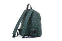 2-Zip Backpack - Gem of Heart - Green