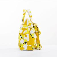 Convertible Satchel / Backpack - Kokio Yellow