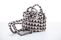 3-Way Cubic Backpack - Love Charm Beige