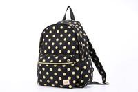 2-Zip Backpack - Golden Dotty