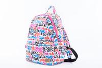 City Backpack - Je Suis a la Mode (White)