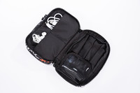 2-Zip Cosmetics and accessories Bag  -  I'm in Fashion (Black)