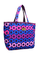 Reversible Tote - Puzzled Floral