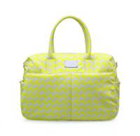 Boston Bag - Checker in Vogue - Yellow