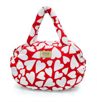 3-way Shoulder Tote - Endless Love - Red