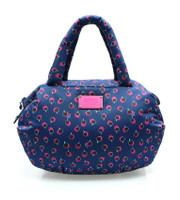 3way Shoulder Tote - Dotty Apple - Pink