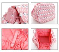2 way Drawstring Hobo Bag - FLAMINGO