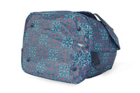 2 Way Drawstring Hobo Bag - Nordic tale  Blue