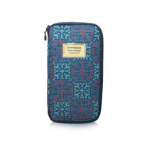 Travel Wallet - Nordic Tale - Blue