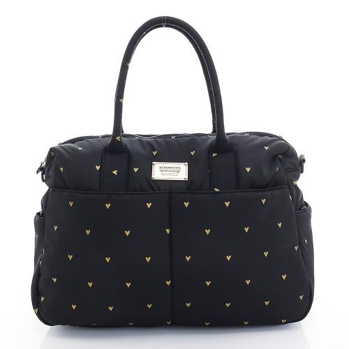 Boston Bag - Mini Heat - Black