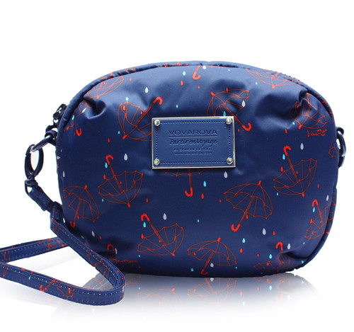 Mini Sling Bag - Singing in the air - Blue