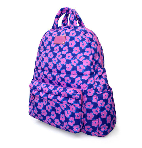 Backpack - Leopard Illusion - Pink