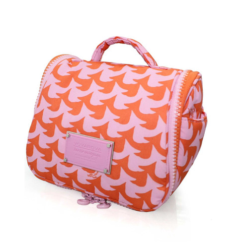 Toiletry Pouch - Checker in Vogue - Pink