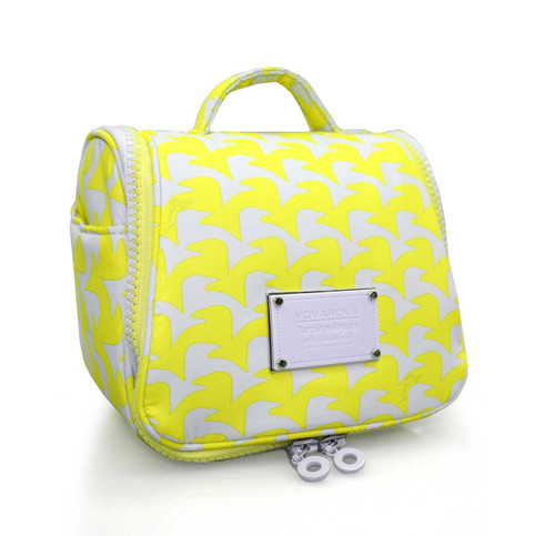 Toiletry Pouch - Checker in Vogue - Yellow