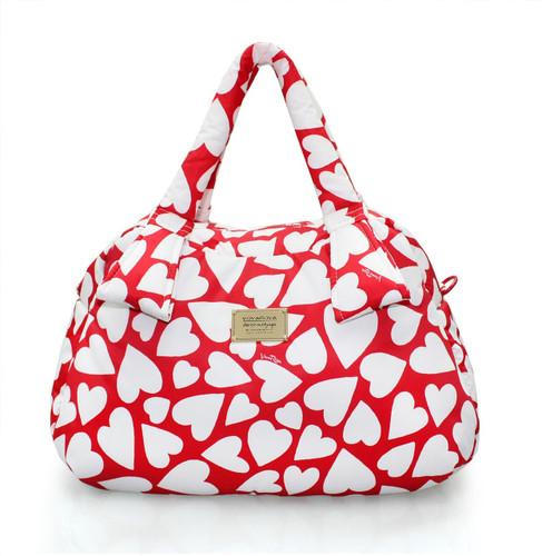 Ribbon Day Bag - Endless Love - Red